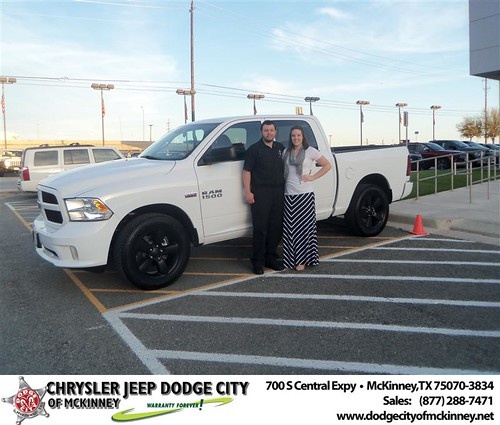 Dodge City of McKinney would like to say Congratulations to John Perkins on the 2013 Dodge Ram by Dodge City McKinney Texas