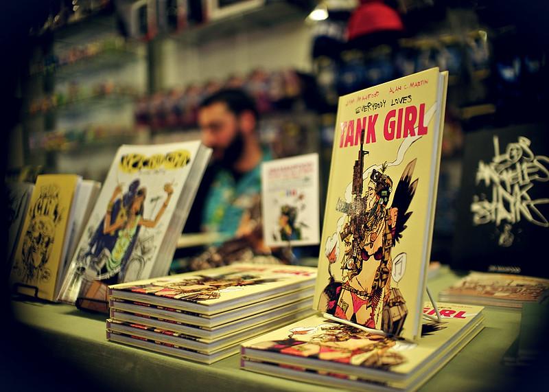 Jim Mahfood Tank Girl Signing @ Star Clipper Comics