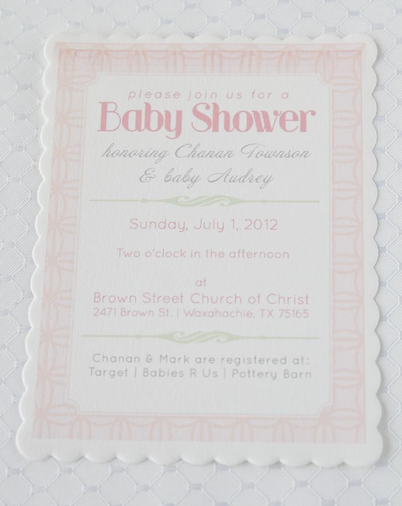baby shower pink quilt