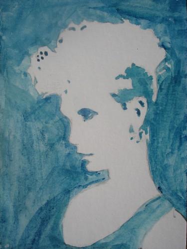 Watercolour portrait #2