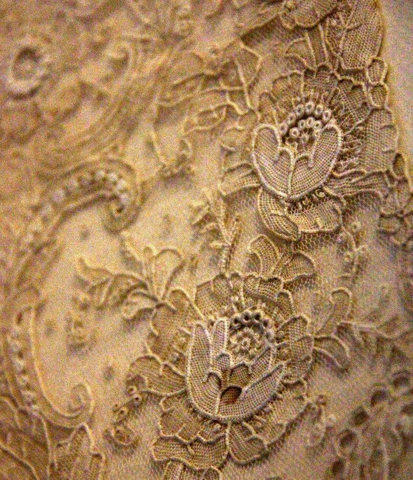 The gorgeous Brugge lace