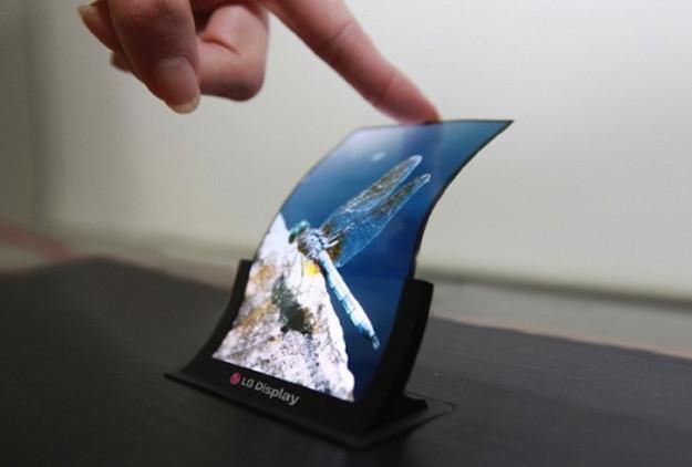 pantalla flexible