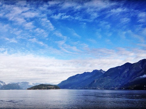 On the ferry to Bowen Island