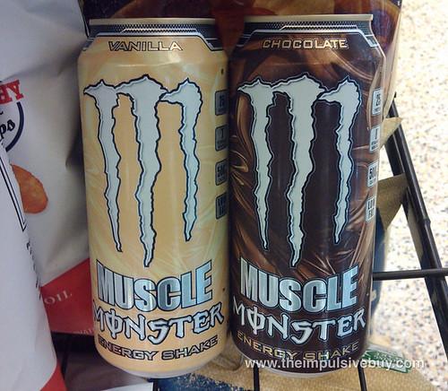 Monster Muscle Energy Shake