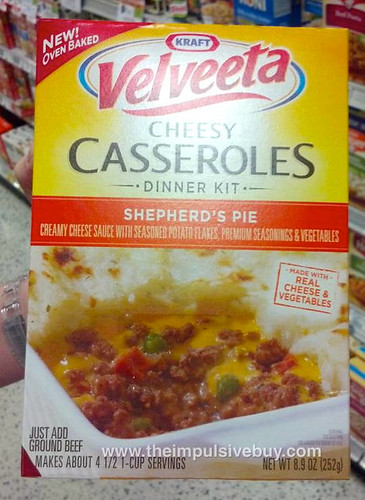 Velveeta Cheesy Casseroles Dinner Kit Shepherd's Pie