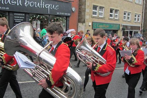Uppermill Walks, Dobcross Youth Band