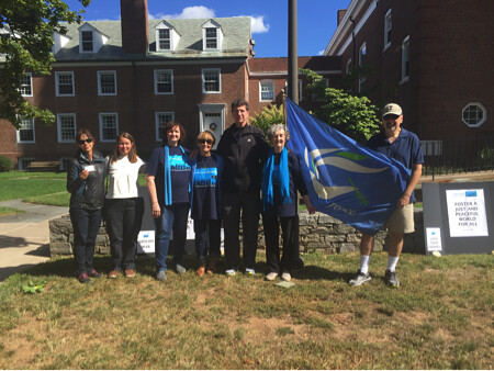 West Hartford, CT  Labyrinth for Peace CNV 2016 (1)