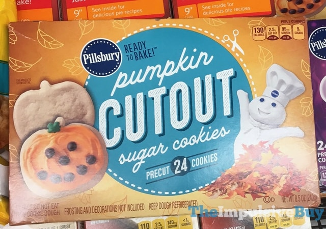 Pillsbury Pumpkin Cutout Sugar Cookies