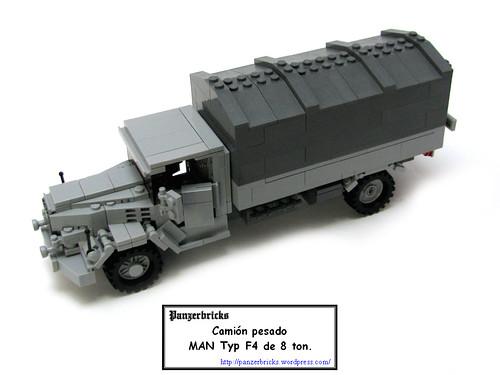 Camión MAN 8t F4 de Panzerbricks