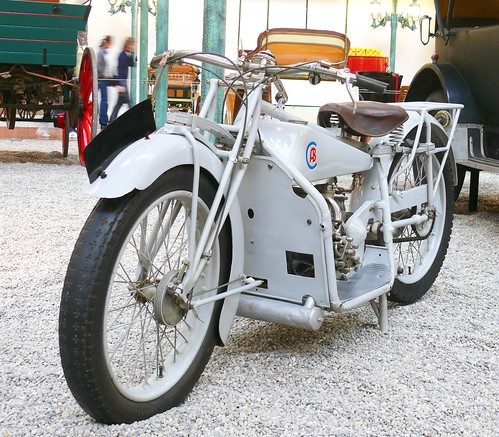 ABC 400 Motorcycle 1920 grey vlt