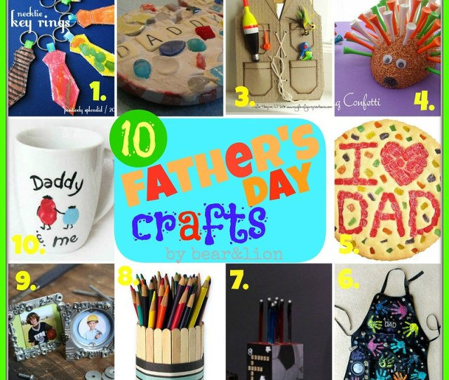 Here Is A Round Up Of Diy Craft Projects Any Dad Would Love