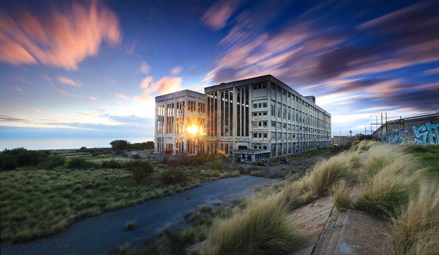 South Fremantle abandoned  Powerstation