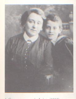 Vasilij Grossman e la madre, 1914