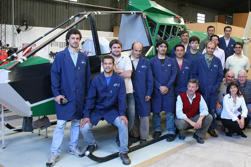 Cicare CH-14 team