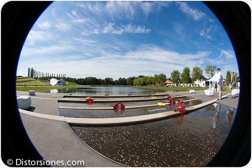 Water Delta y el Floriade Theater al fondo