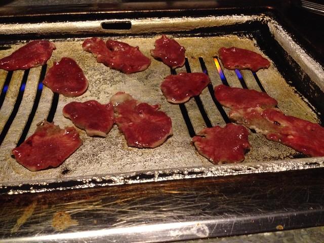 Prime beef tongue - YakiniQ BBQ