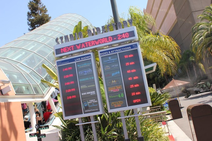August 20 & 21 2012 - Park Update - Universal Studios Hollywood