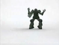 Zaku Gundam Style Music Video  Screencaps (9)