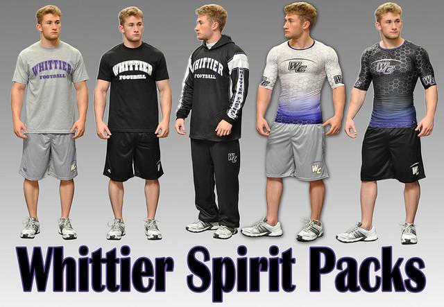 whittier spirit packs