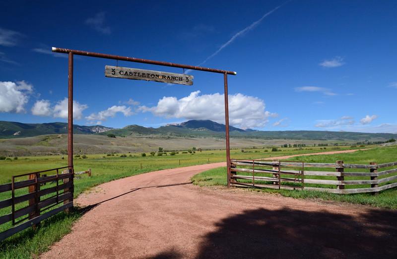 Castleton Ranch - Ohio Creek, Gunnison, Colorado