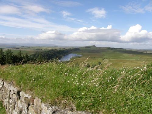 Crag Lough, Peel Crags, Winshields Crags