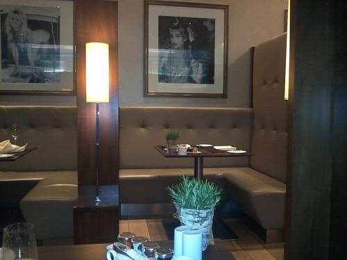 Private Dining Area in Concorde Room