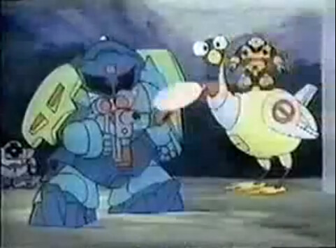 American Unaired Gundam Series Doozy Bots (2)