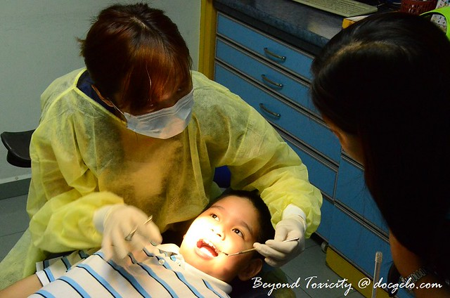 gabby & dentist # 4, august 12, 2012, sunday, maxcare, raja uda