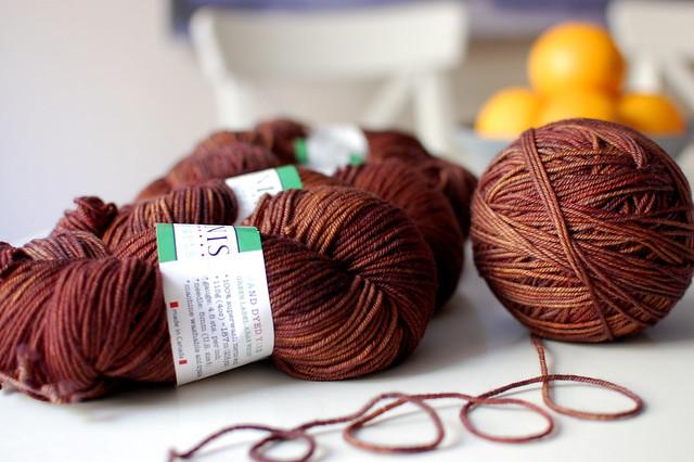 Tanis Fiber Arts Green Label- Chestnut
