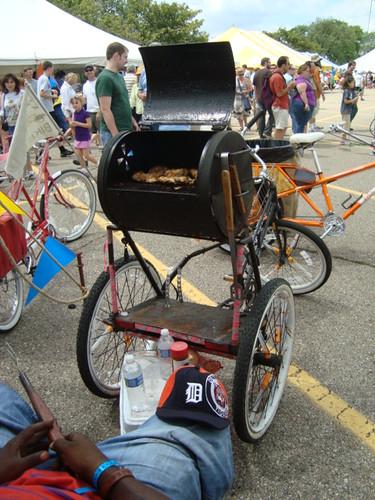 The grill bike