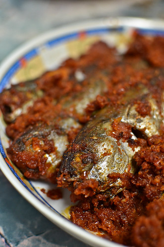 Sambal Ikan/Fish with Chili Paste