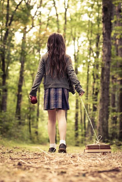 The walk to school