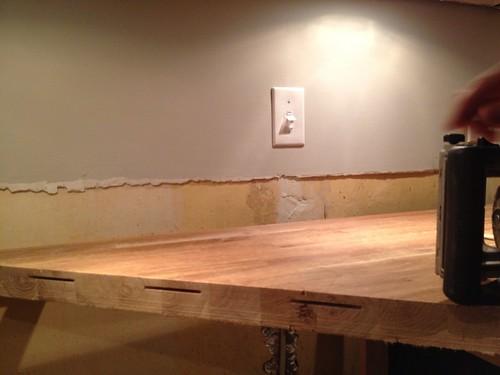 Kitchen Backsplash Prepping for Tile and Selecting a