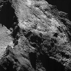 Comet on 6 August 2016 NavCam
