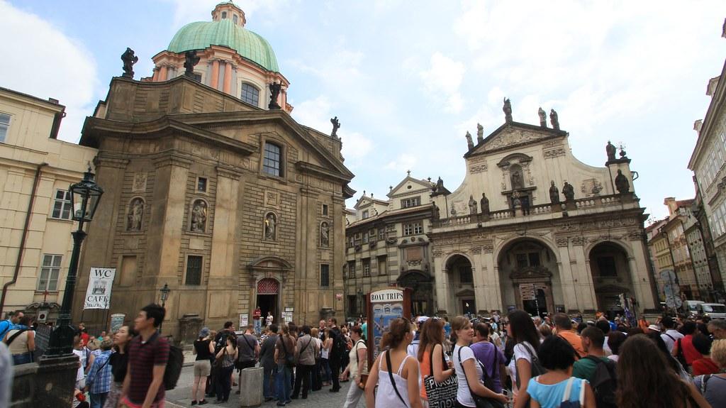 Wenceslas Square - Prague, Czech Republic