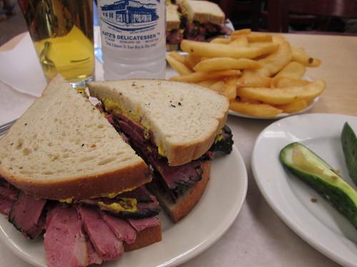 Katz's Delicatessen, NYC. Jul2012