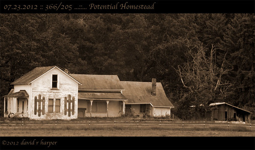 07.23.2012 :: 366/205 ...::... Potential Homestead by Echo9er