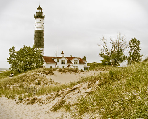 Lighthouse at Big Sable Point by jwill9311