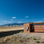 Great Sand Dunes National Park entrance