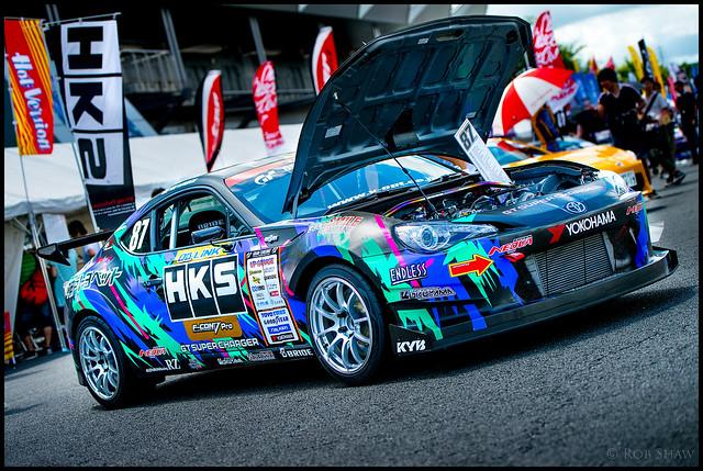 86 HKS Fuji Style 2012