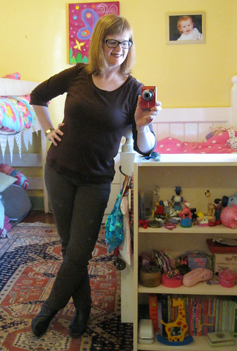 3/4 sleeve Renfrew top & StyleARC Elle pants