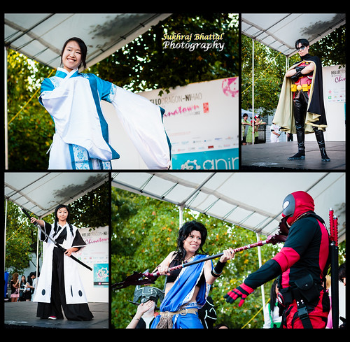 Day 589 - A Cosplay Fashion Show at the Chinatown Nightmarket by SukhrajB