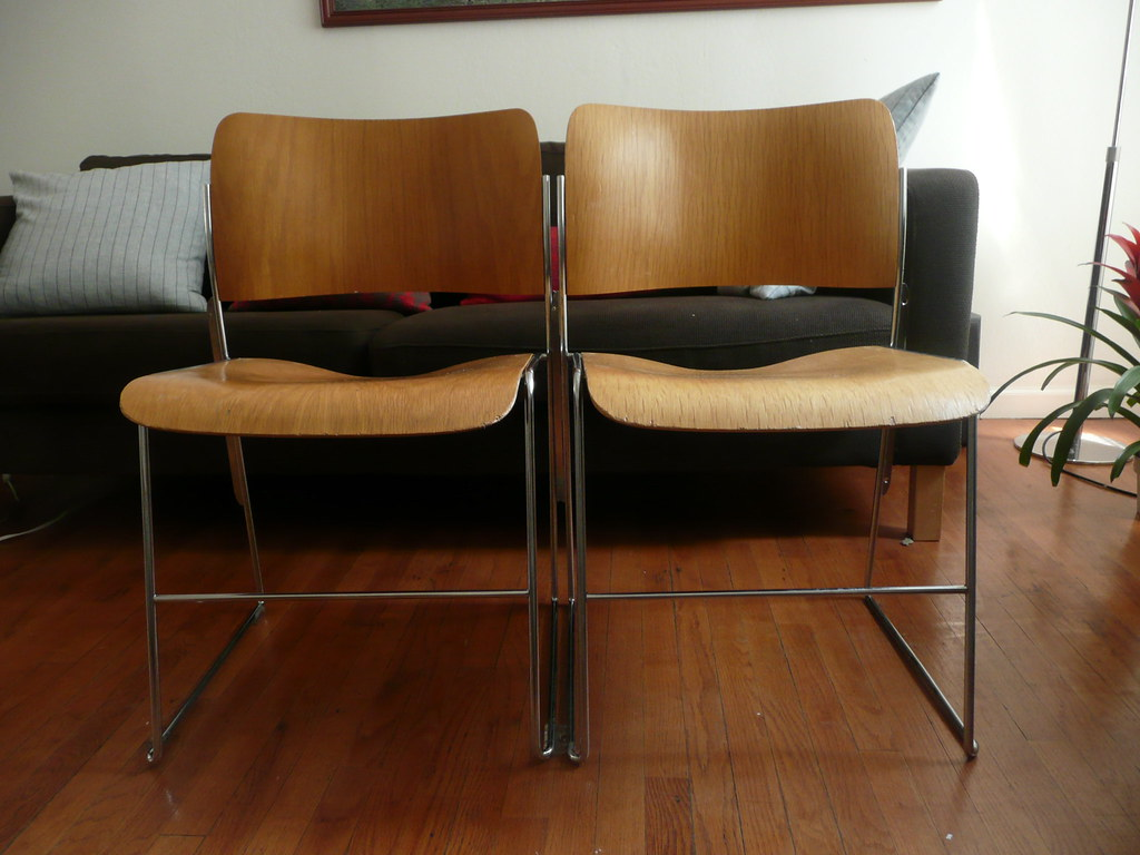David Rowland Gf 40 4 Stacking Chairs Kristenvan Flickr