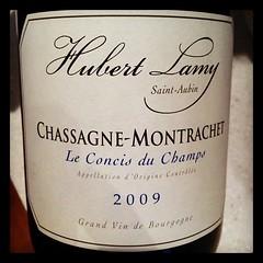 Chassagne Montrachet Le Concis de Champs 2009 Hubert Lamy