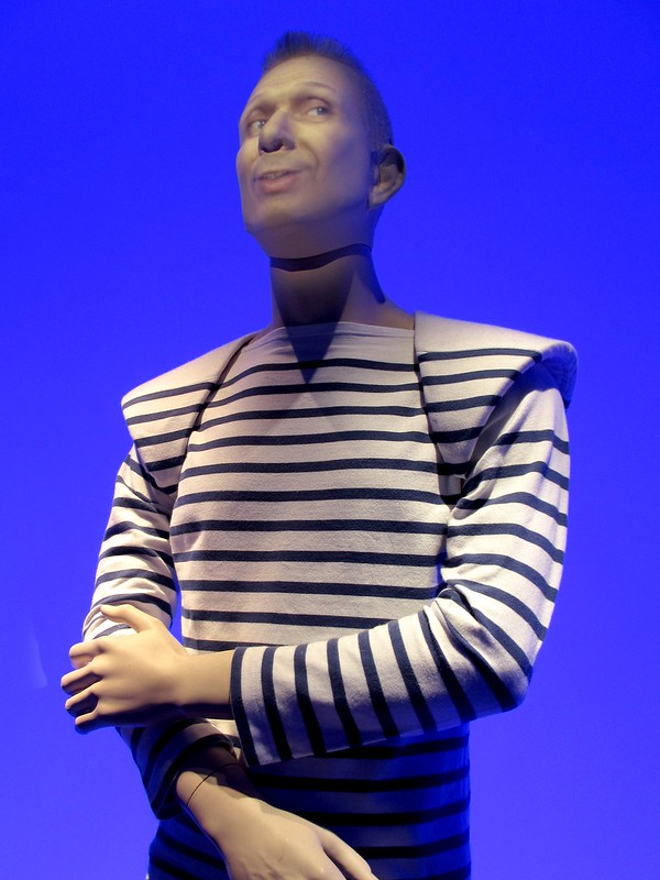 Jean Paul Gaultier, the talking mannequin.
