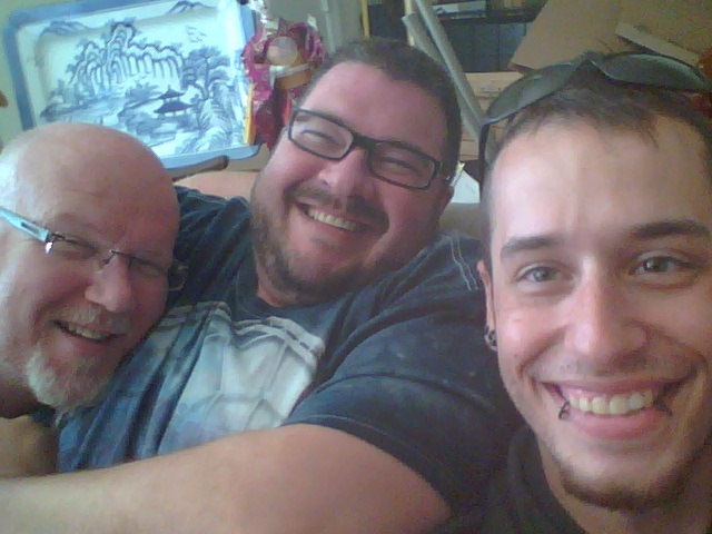 Me, Russell and Barry