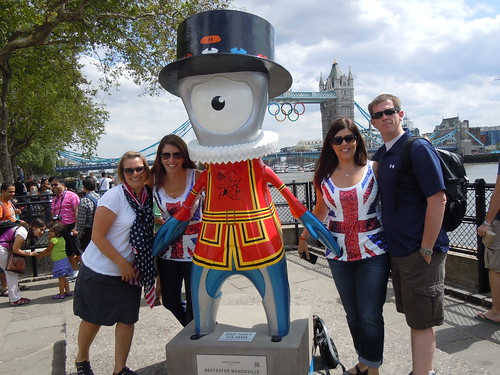 with Mandeville near Tower Bridge