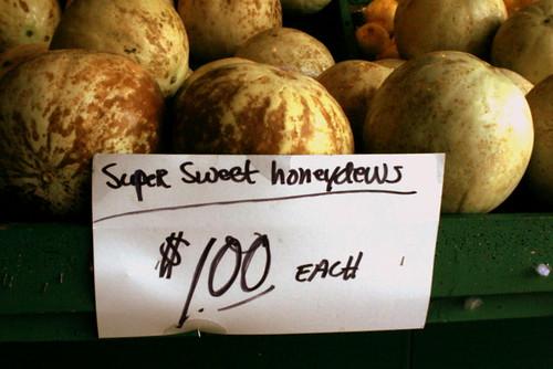 Soulard Market Honeydews