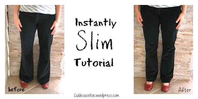 Instantly slim tut