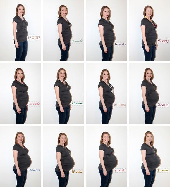 12 weeks - 34 weeks